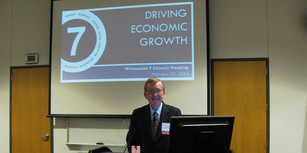Ed Gordon speaking about Driving Economic Growth