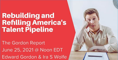 YouTube thumbnail for Rebuilding and Refilling America's Talent Pipeline webinar