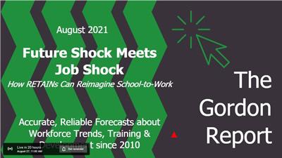 Future Shock Meets Job Shop: How RETAINs can reimagine school-to-work